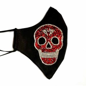 Red Jewel Skull Mask